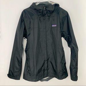 Patagonia women's Trorrent shell jacket black med